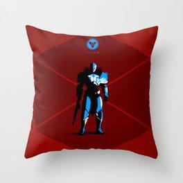029 Titan D2 Throw Pillow