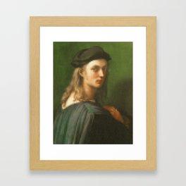 Portrait of Bino Altoviti Framed Art Print