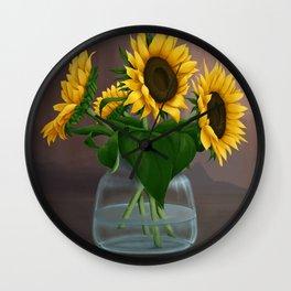 Happy Birthday, Vincent! Wall Clock