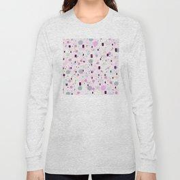 Watercolor Splash Effect Pattern Long Sleeve T-shirt