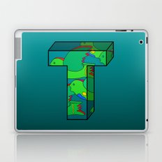 Letter T Laptop & iPad Skin