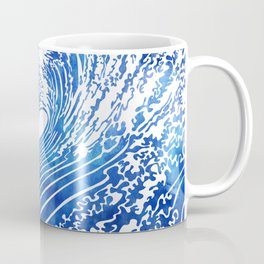 Blue Wave II Coffee Mug