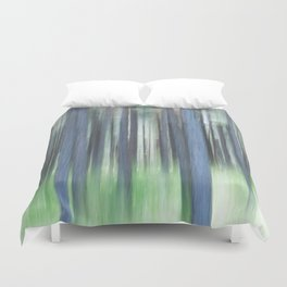 Painted Trees Duvet Cover