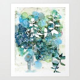Beauty Of Chaos 1 Art Print