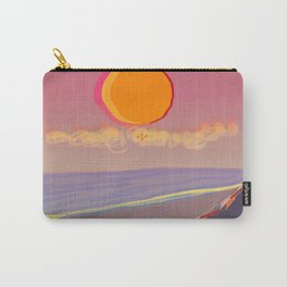 Red Moon Summer Vibrations Carry-All Pouch