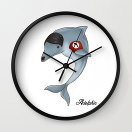Adolphin  Wall Clock