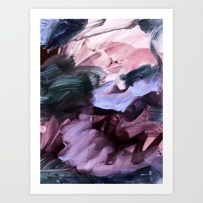 abstract painting VII Art Print