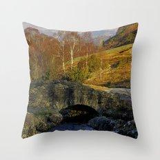 Ashness Bridge  Lake District Throw Pillow