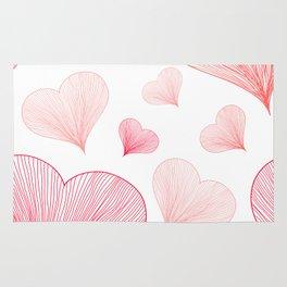 Heart Pattern 05 Rug