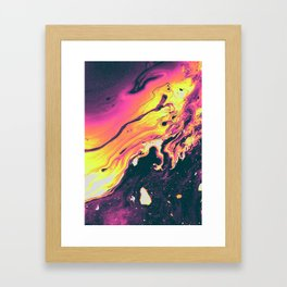 CORINTHIAN LEATHER Framed Art Print