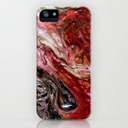 """Passion"" artwork by Inessa Laurel iPhone Case"