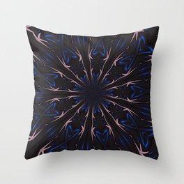 Spellbound Kaleidoscope Abstract Throw Pillow