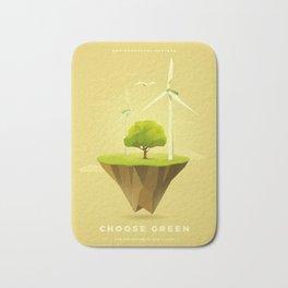 Green Power Bath Mat