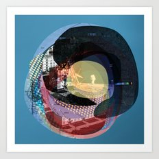 the abstract dream 16 Art Print