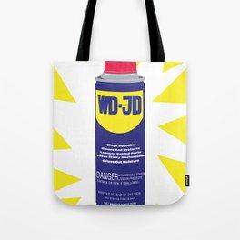 WDJD Stops Sqeaks Tote Bag