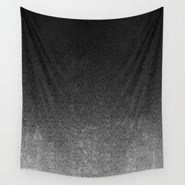 Silver & Black Glitter Gradient Wall Tapestry