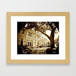 Terrace Framed Art Print