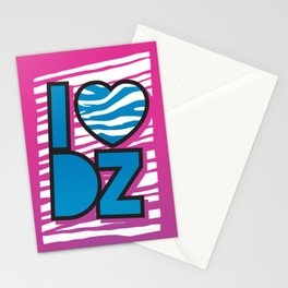 I Heart DZ Stationery Cards