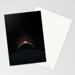 2001 Space Odyssey Sun, Earth, Moon Alignment Stationery Cards