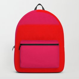 Abstract in red and pink Backpack
