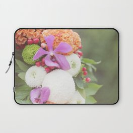 Floral Touch Laptop Sleeve