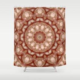 Walking through the universe Shower Curtain
