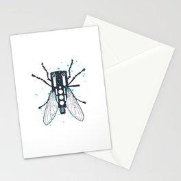 Cartridgebug of Mixing on Turntable Stationery Cards