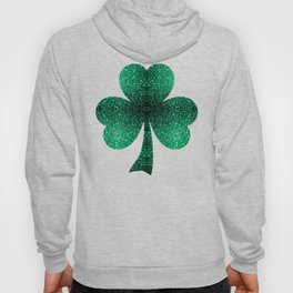 Beautiful Emerald Green glitter sparkles Hoody