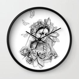 Coatlicue Wall Clock