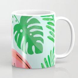 FLOCKIN FLAMINGO ART Coffee Mug