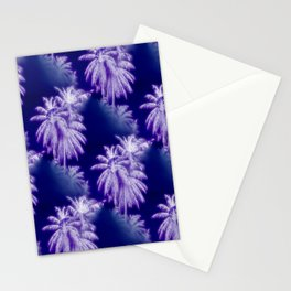 Palm Trees Coastal Evening Stationery Cards
