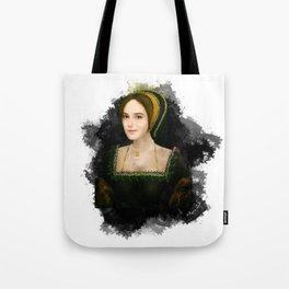 Anne Boleyn grunge artwork Tote Bag
