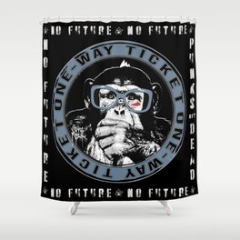 No Future One-Way Ticket 1 Shower Curtain