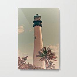 Vintage Lighthouse Metal Print