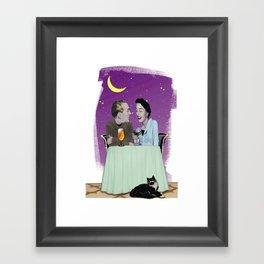 Dinner Framed Art Print