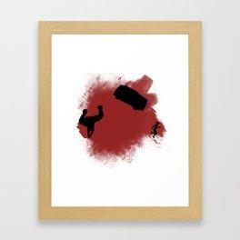 Tank! Framed Art Print