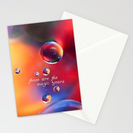these are the magic years Stationery Cards