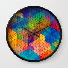 Cuben Intense No.2 Wall Clock