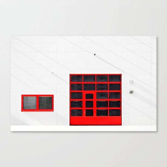 Patio 2 Canvas Print