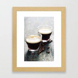 Coffee. Coffee Espresso. Cup Of Coffee Framed Art Print