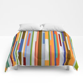 Abstract Composition 609 Comforters