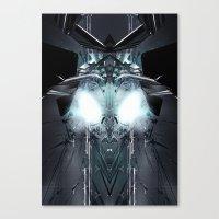 transformer Canvas Prints featuring Transformer! by Robin Curtiss