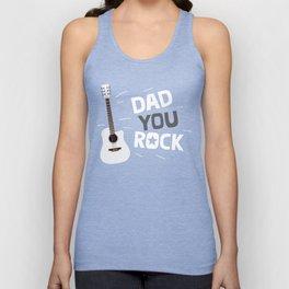 Dad you rock! Unisex Tank Top