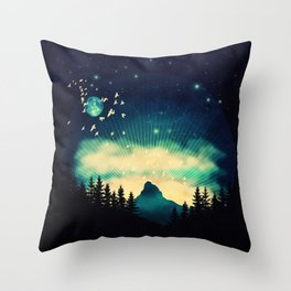 Stellanti Nocte Throw Pillow