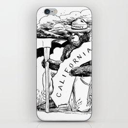 California, we love you iPhone Skin