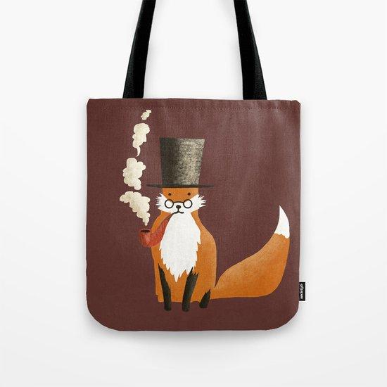 Fancy Fox Tote Bag