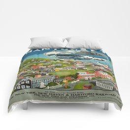 Vintage poster - Nantucket Comforters