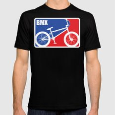 BMX Mens Fitted Tee LARGE Black