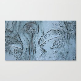 Whimsical frosted wood Canvas Print