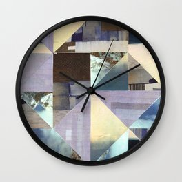 Landscape Collage Wall Clock